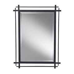Feiss Lighting Ethan Rectangle 27.19-Inch Mirror MR1107AF