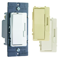 Legrand Harmony Tru-Universal Dimmer with 3 Interchangeable Faceplates
