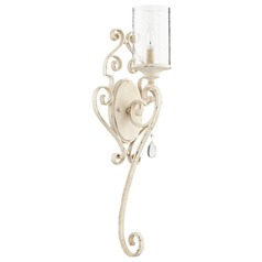 Quorum Lighting San Miguel Persian White Sconce