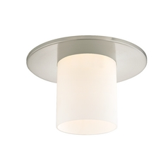 Decorative Ceiling Trim for Recessed Lights with Frosted Glass