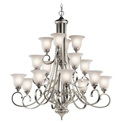 Kichler Lighting Monroe Brushed Nickel Chandelier
