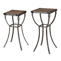 Uttermost Hewson Plant Stands Set of 2