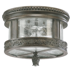 Quorum Lighting Dauphine Etruscan Sienna Close To Ceiling Light