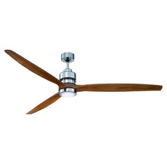 Craftmade Lighting Sonnet Chrome LED Ceiling Fan with Light