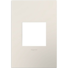 Legrand Adorne Satin Light Almond 1-Gang Switch Plate