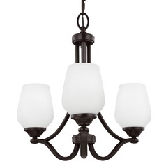 Feiss Lighting Vintner Heritage Bronze Mini-Chandelier