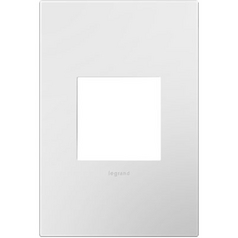 Legrand Adorne Gloss White Switch Plate Cover / Wall Plate