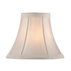 Bell Lamp Shade with Clip-On Assembly