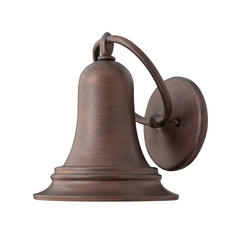 Hinkley Lighting Outdoor Wall Light in Victorian Bronze Finish 2174VZ