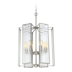 Designers Fountain Pivot Satin Platinum Pendant Light