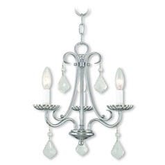 Livex Lighting Daphne Polished Chrome Mini-Chandelier
