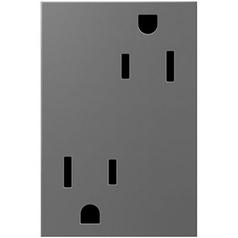 Legrand Adorne Tamper-Resistant Outlet 3-Module