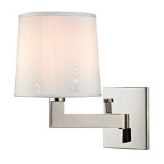 Hudson Valley Lighting Fairport Polished Nickel Sconce