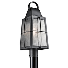 Kichler Lighting Tolerand Textured Black Post Lighting