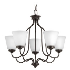 Progress Lighting Keats Antique Bronze Chandelier