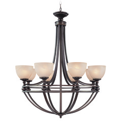 Craftmade Seymour Oiled Bronze Chandelier