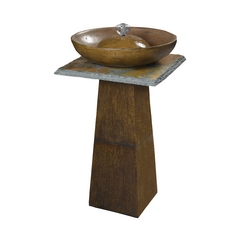 Outdoor Fountain in Bronze Finish