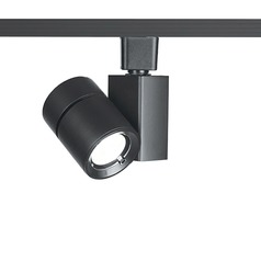 WAC Lighting Black LED Track Light L-Track 3000K 1860LM