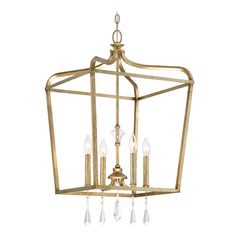Minka Lighting Laurel Estate Brio Gold Pendant Light