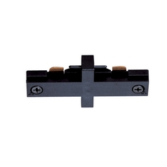 Juno Lighting Group Juno Trac-Master Miniature Straight Connector for Single Circuit Track T23BL