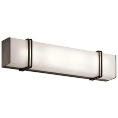 Kichler Lighting Impello Olde Bronze LED Bathroom Light