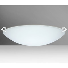 Besa Lighting Sonya White LED Flushmount Light