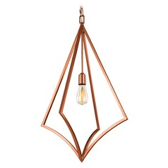 Feiss Lighting Nico Copper Pendant Light