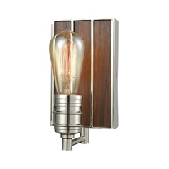 Elk Lighting Brookweiler Polished Nickel Sconce