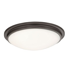 Recesso Lighting by Dolan Designs Low Profile Bronze Decorative Recessed Trim Ceiling Light 10330-46