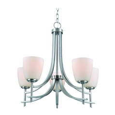 Lite Source Lighting Cade Polished Steel Chandelier