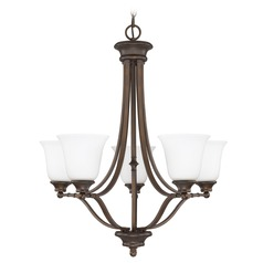 Capital Lighting Belmont Burnished Bronze Chandelier
