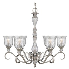 Golden Lighting Alston Place Pewter Chandelier