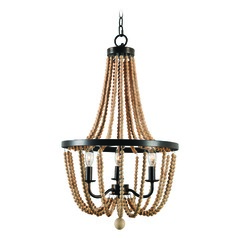 Regas Golden Bronze Mini-Chandelier by Kenroy Home