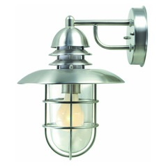 Lite Source Lighting Stainless Steel Outdoor Wall Light