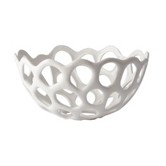 Perforated Porcelain Dish - Md