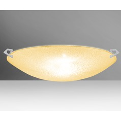 Besa Lighting Sonya Satin Nickel LED Flushmount Light