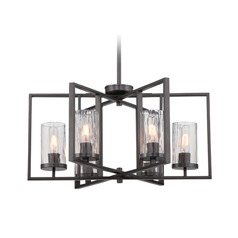 Designers Fountain Elements Charcoal Chandelier