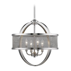 Golden Lighting Colson Pw Pewter Mini-Chandelier