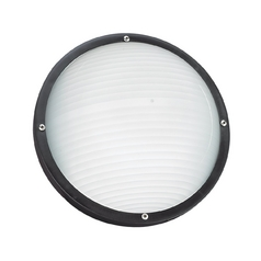 Black Energy Star Round Bulkhead Marine Light