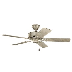 Kichler Lighting Renew Es Sterling Gold Ceiling Fan Without Light