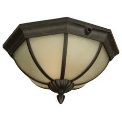 Craftmade International, Inc. Flushmount Outdoor Ceiling Light Fixture Z-477CF-92