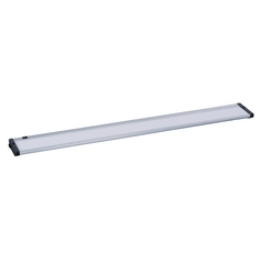 30-Inch LED Under Cabinet Light Direct-Wire / Plug-In 2700K 120V Brushed Aluminum by Maxim Lighting