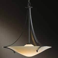Hubbardton Forge Lighting Antasia Burnished Steel Pendant Light