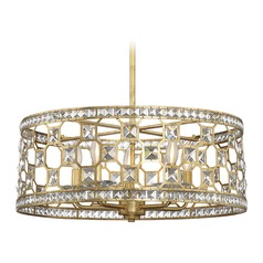 Savoy House Lighting Clarion Gold Bullion Pendant Light