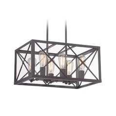 Designers Fountain High Line Satin Bronze Pendant Light