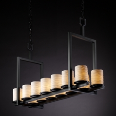 Justice Design Group Limoges Collection Island Light