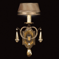 Fine Art Lamps Golden Aura Aged Gold Patina Sconce