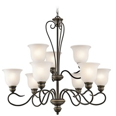 Kichler Lighting Tanglewood Olde Bronze LED Chandelier