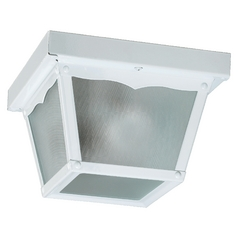 Quorum Lighting White Close To Ceiling Light