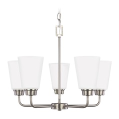 Sea Gull Lighting Kerrville Brushed Nickel LED Mini-Chandelier